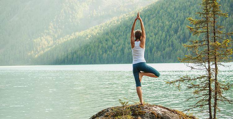 Vrikshasana Yoga Baum