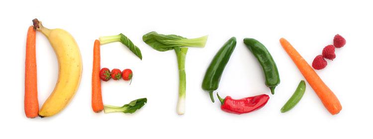Ernährung ist wichtig für Detox