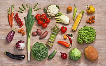 Frisches Gemüse hilft beim Ausleiten