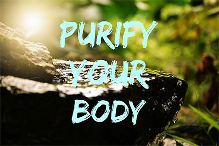 Reinigung vom Körper