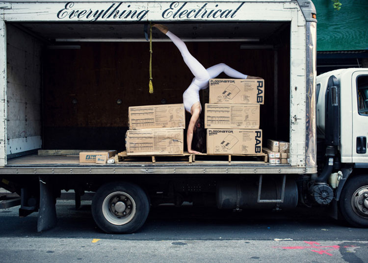 Urban Yoga Projekt Umzug
