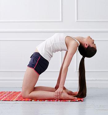Yoga einfach daheim machen