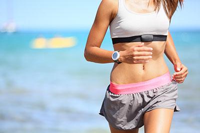 Yoga Laufen und Joggen
