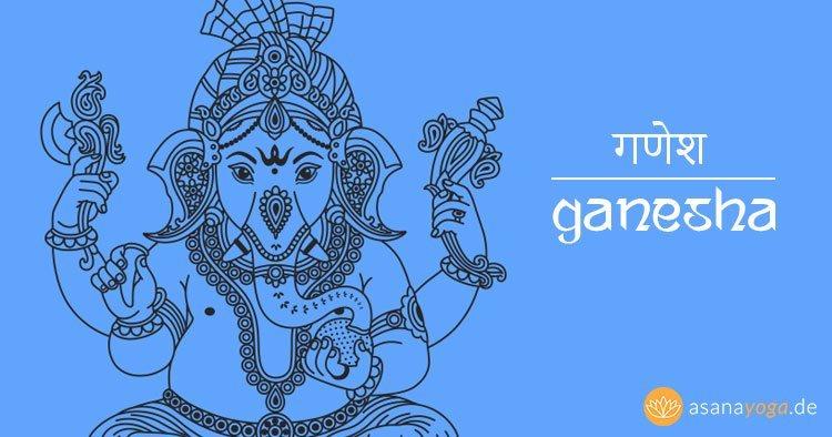 Ganesha der indische Gott