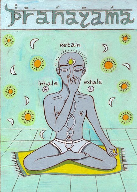 Pranayama beim Yoga