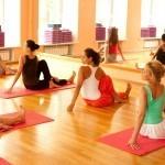 Yogalehrer mit Herz