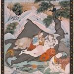 Shiva mit seiner Familie