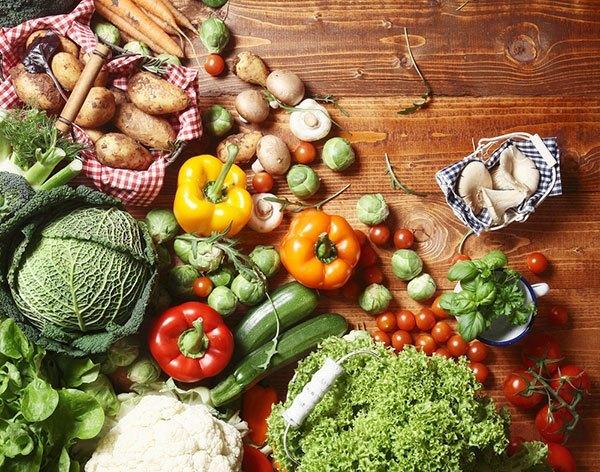 Frisches saisonales Gemüse