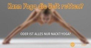 Wie Yoga die Welt retten kann