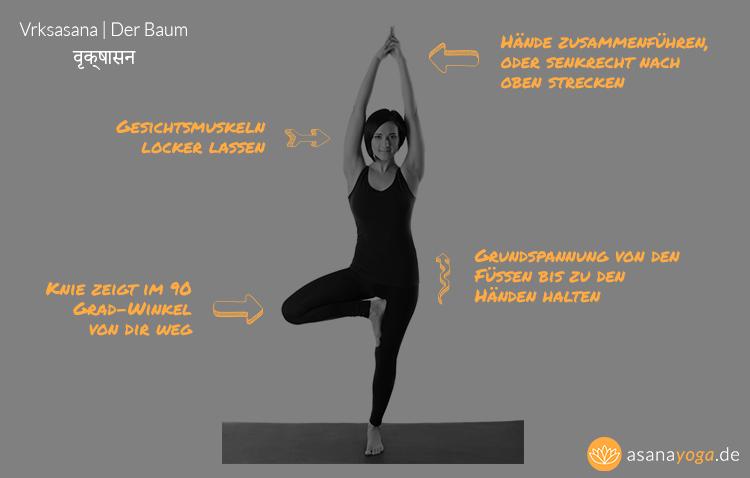 Yoga Baum Vrksasana