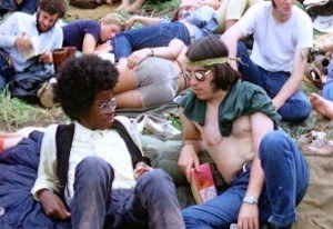 Hippie 1970 Woodstock