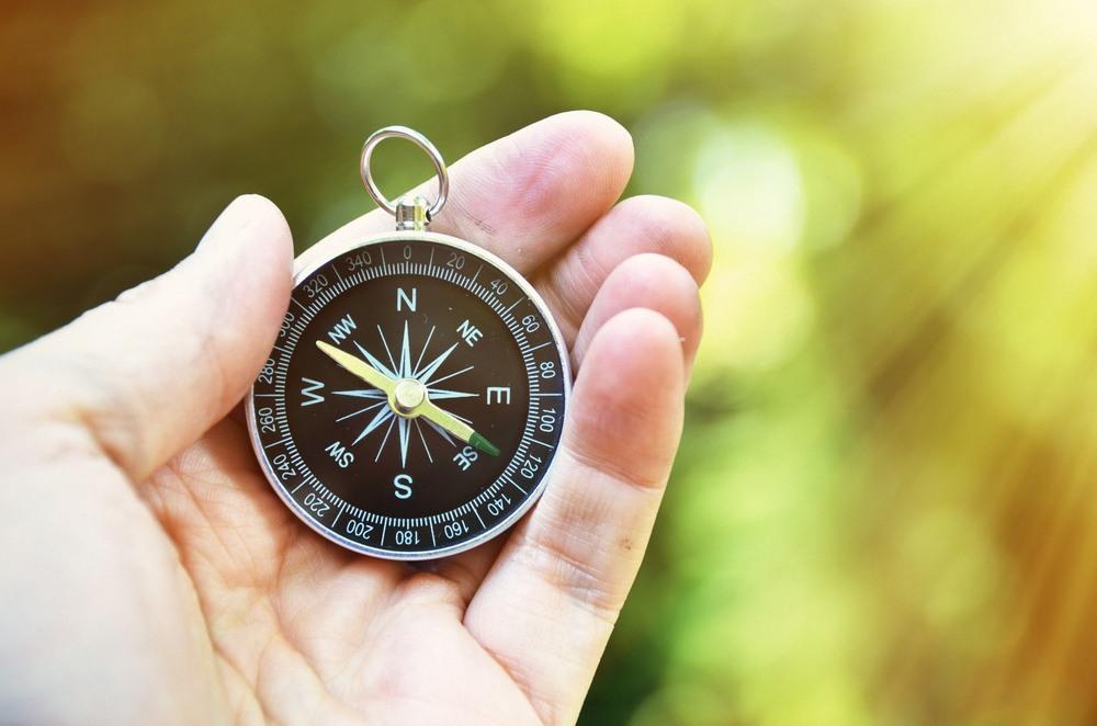 Kompass des Lebens