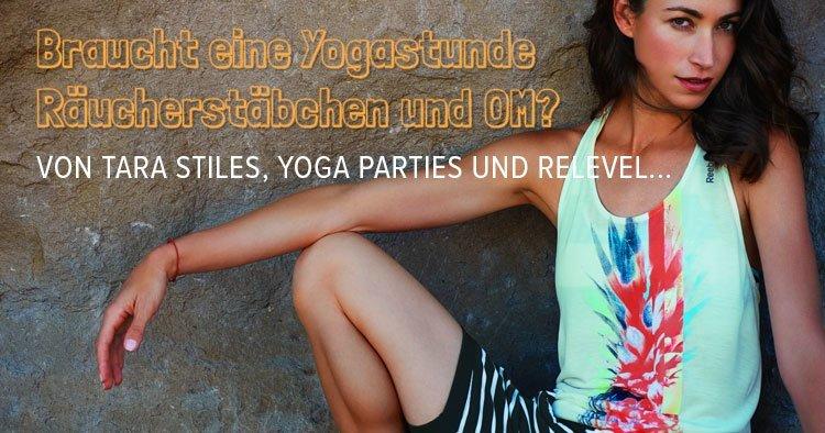 Yoga im ReLevel mit Tara Stiles