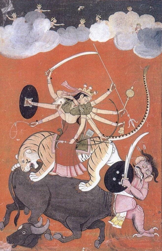 Durga Kampf