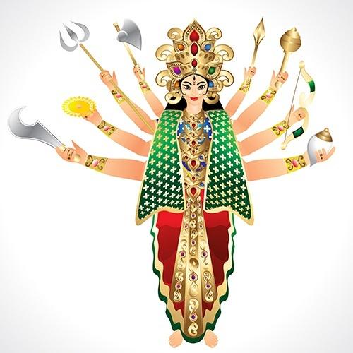 Durga Symbolik