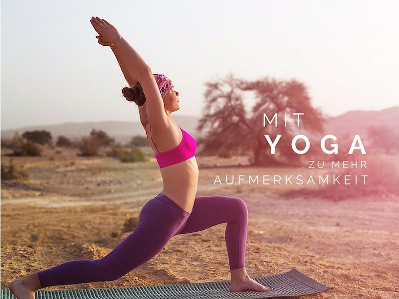 Yoga-Aufmerksamkeit