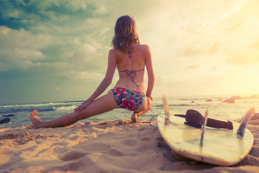 Yoga und Surfen 2