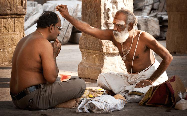 Ayurveda Mediziner Indien