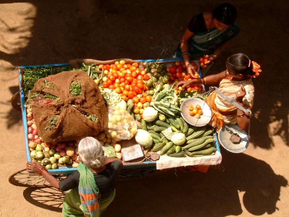 Indien Gemuse