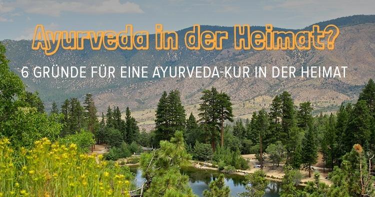 Ayurveda Kur in der Heimat