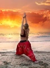 Die perfekte Yogahose Yogastil