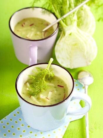 Fenchel-Birnen-Suppe