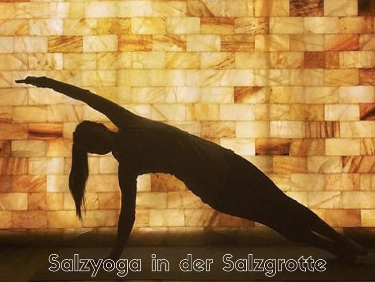Salzyoga in der Salzgrotte