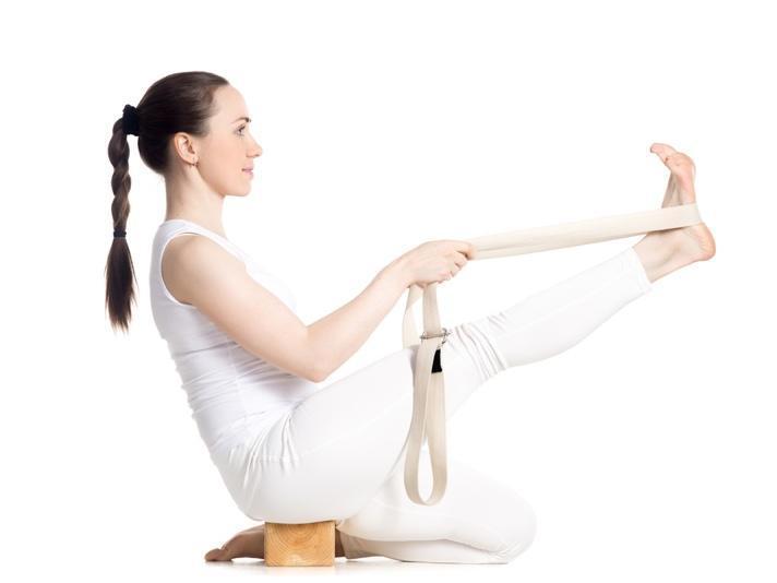 Yogagurt und Balance