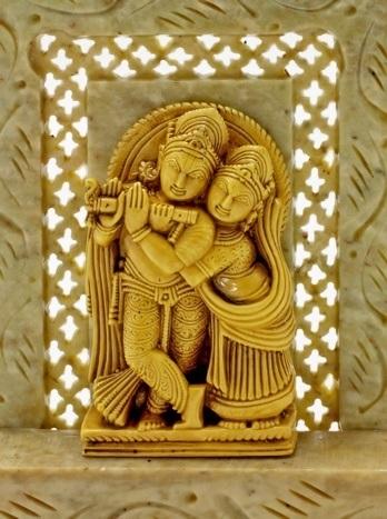 Krishna und Rhadha