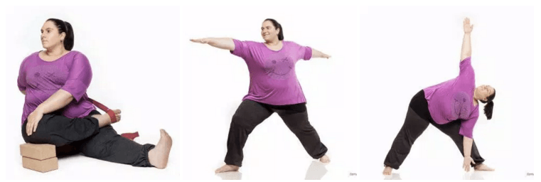 yoga f r bergewichtige na klar asanayoga de. Black Bedroom Furniture Sets. Home Design Ideas