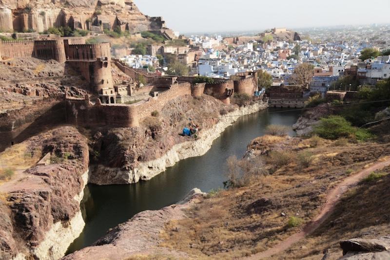 Ashram in Indien Ausflug Jodhpur