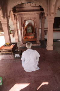 Ashram in Indien Tempel im Ashram