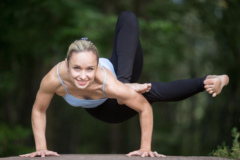 Yin Yoga Posen Dragonfly