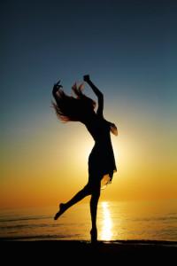 Yoga Dance Sonnenuntergang