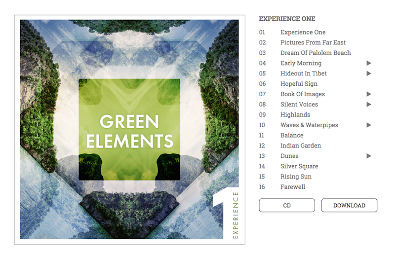 yoga und musik - green elements
