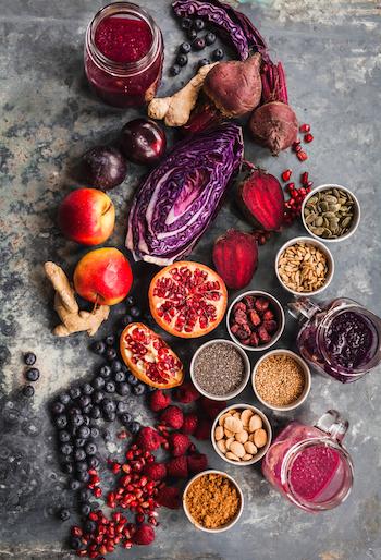 Definition Superfood Obst und Nüsse