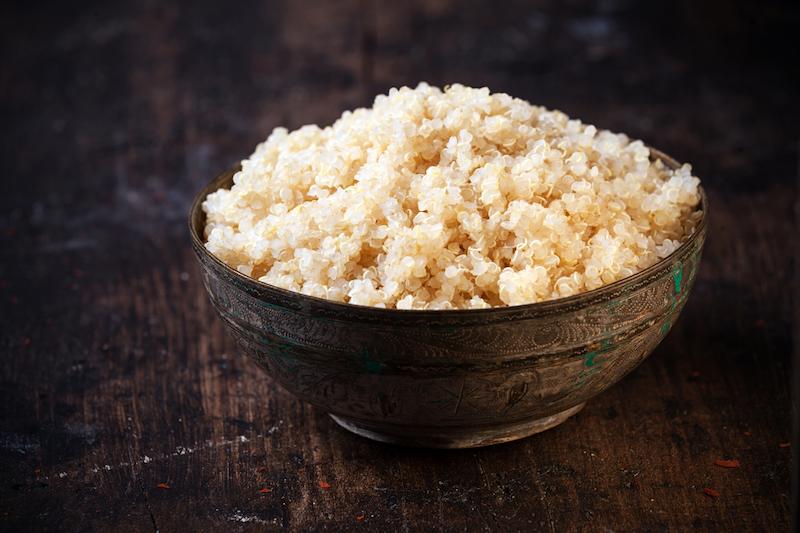 Kohlenhydratarme Lebensmittel Quinoa Schale