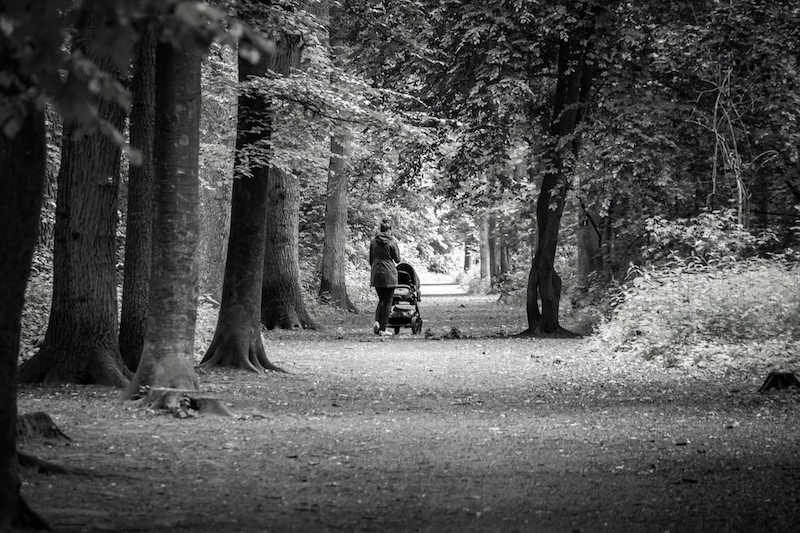 Methoden gegen Stress Spaziergang