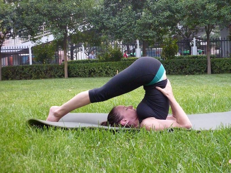 Methoden gegen Stress Yoga