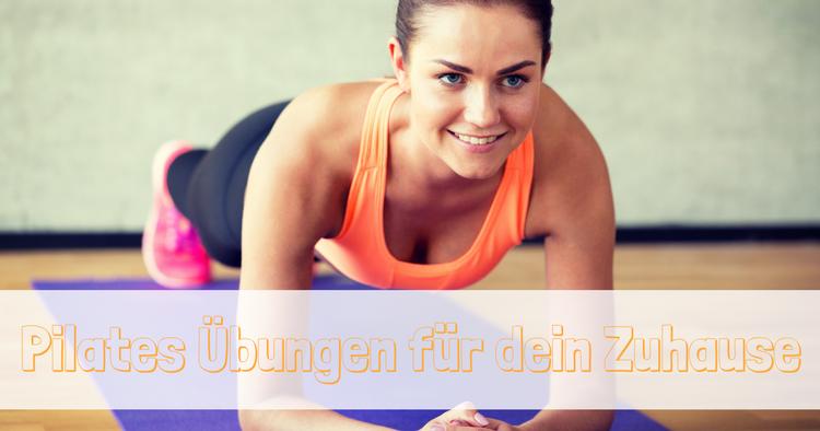 Pilates Uebungen fuer Zuhause