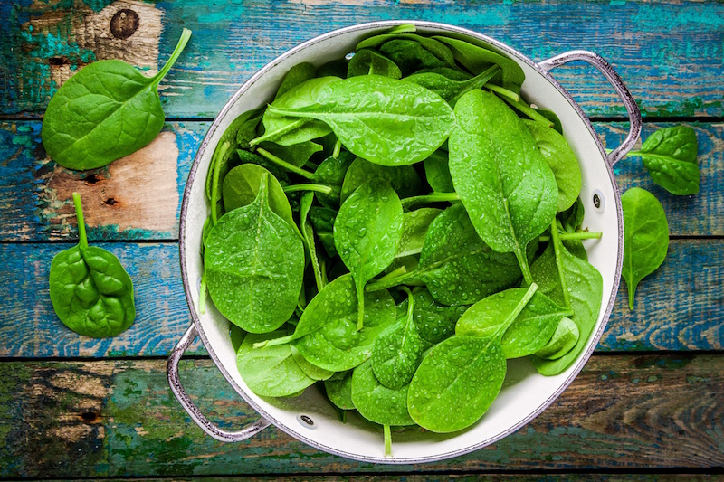 Superfoods zum Abnehmen Spinat