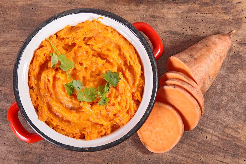 Superfoods zum Abnehmen Suesskartoffel