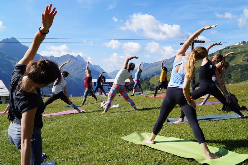 Mountain Yoga Festival St. Anton Yogapraxis Sigrid Pichler