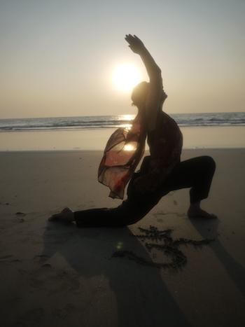 Tantra Yoga am Strand