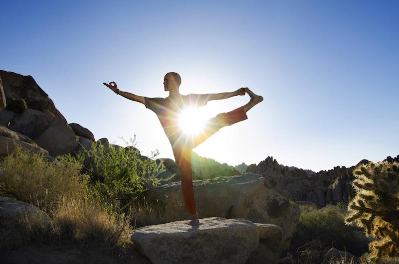 Yoga als Medizin Mann Yogi