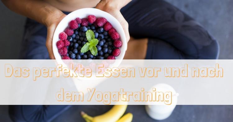Yoga essen