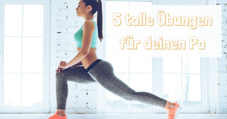 Yoga fuer den Po