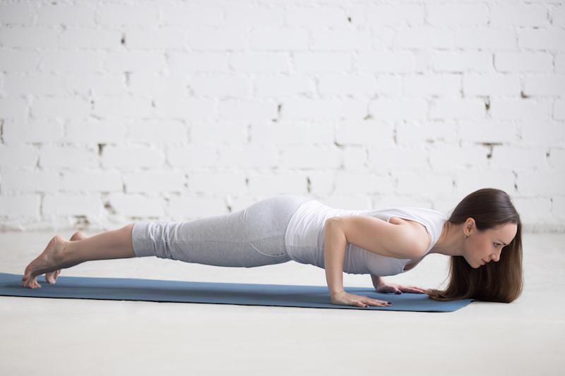 Fatburning-mit-Yoga-Uebung-Planke