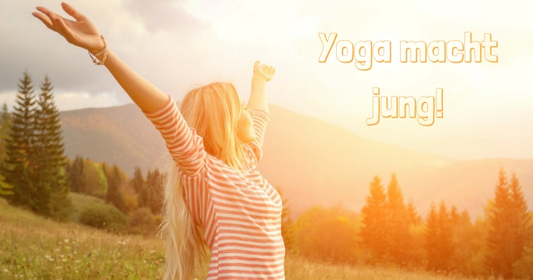 Jung durch Yoga