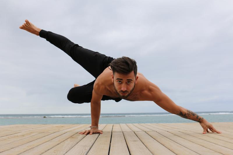 Patrick Beach Handstand